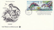FIRST DAY EVENT COVER FDC 1997 WORLD OF DINOSAURS 2 COMMEMORATIVE POSTAL SOCIETY