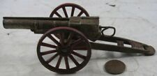 Vintage Cast Iron Field Artillery Cannon