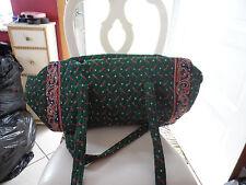 Vera bradley XL duffel bag in retired Green Golf pattern, Indiana tags