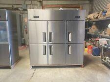 Six door refrigerator freezer AL46COMMERCIAL COOLERRESTAURANT EQUIPMENT