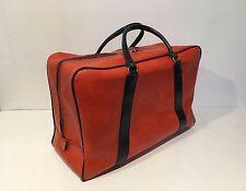 superbe Valise  sac a main sport  voyage vintage Rouge  MAR4