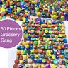 50 Pcs Mixed Lot Popular Kids Toys Cartoon Grossery Gang Anime Action Figure Set