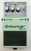 BOSS EH-2 Enhancer Guitar Effects Pedal 1995 #19 Free Shipping