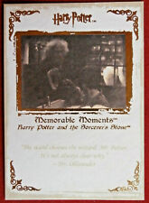 HARRY POTTER - MEMORABLE MOMENTS #1 - Card #09 - THE WAND CHOOSES THE WIZARD
