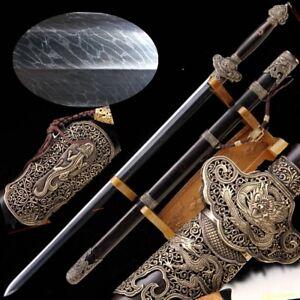Highest Grade Sword SandwichSteel Forging Ice Cracks Pattern Steel Blade #3692