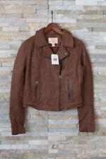 Manteaux et vestes marron en cuir taille S pour femme