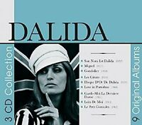 Dalida - 9 Original Albums [CD]