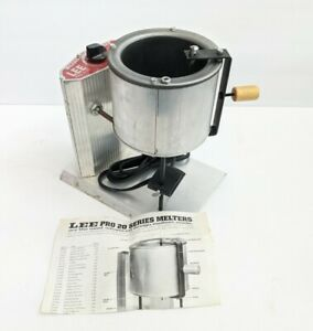 Lee Reloading Pro 4 20 Melting Pot Lead Melter 90947