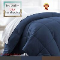 Luxury Supersoft Polyester Alternative Comforter WTwin Queen King Size WF