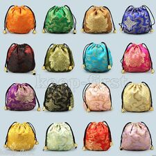 10pcs Women's Silk Pouch Purse Gift Bag Jewellery Bags Jewelry Chinese FASHION
