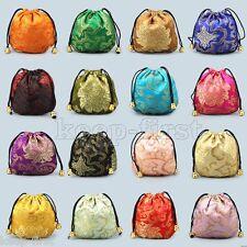 10pcs Women's Silk Pouch Purse Gift Bag Jewellery Bags Jewelry Chinese FASHION