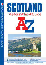 Scotland: Visitor's Atlas & Guide by A-Z Maps (Paperback, 2018)