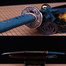 Japanese Samurai Sword Katana 9260 Spring Steel battle ready full tang sharp.