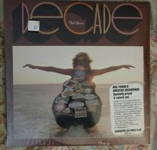 Neil Young Decade Sealed with song title sticker 1977 3-LP  Reprise #3RS-2257