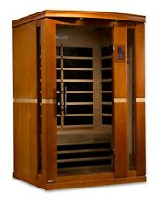 Dynamic Vittoria 2 Person Low EMF Far Infrared Sauna 6 Carbon Heaters NEW!