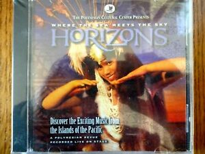 CD ALBUM - HORIZONS - Music from Islands of the Pacific - NEW