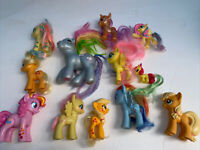 Lot Of 12 Of My Little Pony Figures Very cute and in VGC Rare