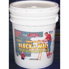 Ames Block & Wall Liquid Rubber Coating 5 Gallon
