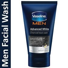 Vaseline Men Advanced White Foam Charcoal Black Wash 100g