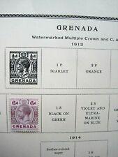 Grenada 1 Stamp  1913 (MH)