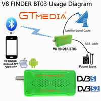 GTMEDIA V8 Finder BT03 1080P Satellite Finder FHD SatFinder DVB-S2 Signal Meter