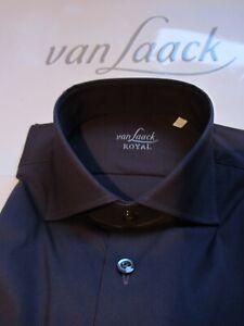 van Laack Royal 39 15,5 Rivara  Tailor AUSGEFALLEN elastisch PFLAUME 149?  5572