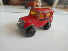 Majorette 4x4 Toyota Jeep in Red