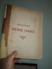 Catalog of Ancient Paintings of the Primitive and Renaissance  HENRI HARO (1911)