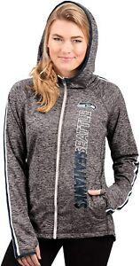 G-III 4her Seattle Seahawks Women's Free Agent Full Zip Hoody Sweatshirt