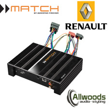 Match Amp & harness Package PP62DSP + FREE PP-AC Harness Cable Renault Koleos