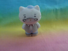 Sanrio Hello Kitty Miniature Flocked Father Figure or Cake Topper - as is