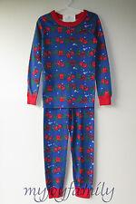 Hanna Andersson Organic Long Johns Pajamas Cozy Cabin 100 4t 4 4d22d0a43