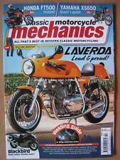 Classic Motorcycle Mechanics October 2019 Laverda SFC750 Honda FT500 XS650 FS1-E