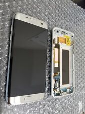 Mint Samsung Galaxy S7 Edge G935A G935V Silver LCD Digitizer Frame - Light SBI