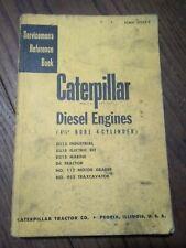 Caterpillar diesel engine reference book