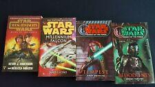 Lot of Four Star Wars Science Fiction Paperback Novels