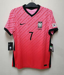 2020-21 KOREA Home S/S No.7 SON Heung-Min Player Issue VaporKnit Size XL