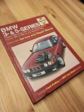 Haynes Manual BMW 3 & 5 Series (3 series 1983-Apr 1991, 5 series 1981-1993)
