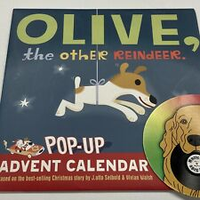 Olive, The Other Reindeer Pop-Up Advent Calendar 2007 Christmas Holiday