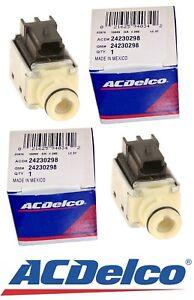 For Chevrolet Silverado Cady Escalade 4L60-E 6L80 ACDelco Set of 2 AT Solenoids