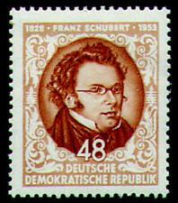 DDR Nr. 404 postfrisch ** / gestempelt Schubert