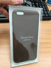 Genuine Apple iPhone 6 6s Plus Leather Case - Mgqr2zm/a Olive Brown