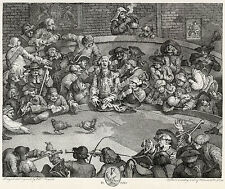 William Hogarth: Print Reproductions: Pit Ticket - The Cockpit:  Fine Art Print