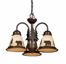 Vaxcel Bozeman Lighting Light Kit Yellowstone Bronze Ceiling Bear LK55716BBZ-C