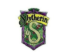Harry Potter ecusson brodé Slytherin blason Serpentard Slytherin school patch
