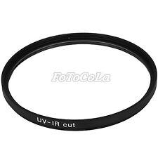 58mm optical glass IR UV infrared UltraViolet cut blocking lens filter f DC CCD