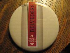 Belvedere Polish Vodka Polska Poland Logo Advertisement Pocket Lipstick Mirror
