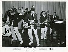 SAL MINEO JOHN SAXON LUANA PATTEN ROCK PRETTY BABY 1956 VINTAGE MOVIE STILL N°2
