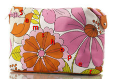 Clinique Flower Print Cute Makeup Bag