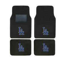 New MLB Los Angeles Dodgers Car Truck Front Rear Back Carpet Floor Mats Set